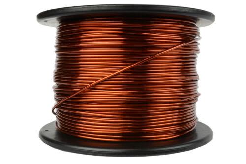 TEMCo Magnet Wire 12 AWG Gauge Enameled Copper 7.5lb 375ft 200C Coil Winding
