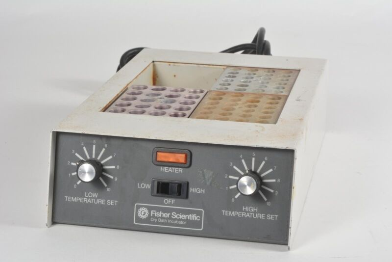 Fisher Scientific Dry Bath Incubator - Tested Working
