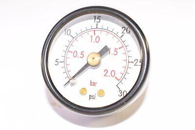 New Fisher 0-30 Psi Pressure Gauge