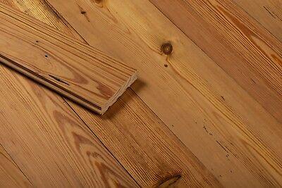 Reclaimed Heart Pine - Reclaimed Heart Pine Flooring, Antique Resawn T&G