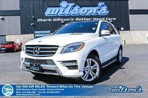 2015 Mercedes-Benz M-Class ML 350 BLUE TEC | SPORT PKG I PARKTRO