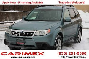 2011 Subaru Forester 2.5 X Convenience Package AWD | CERTIFIED