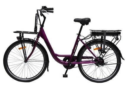 Electric Bike, City Cruiser w/front carry tray