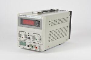 Gw Instek GPS-1850D Power Supply