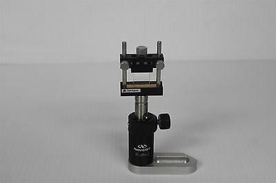 Optosigma Cha-25-ee Lens Holder Newport Vph-2 Post Holder On M-sb-sp Base