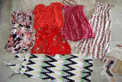 70 items of designer ladies summer clothes s 10. Worth over $2000