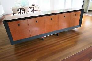 Must Sell - Custom Made - Buffet / Entertainment Cupboard Greenwich Lane Cove Area Preview