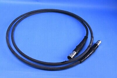 Ma-com Precision Rf Microwave Cable N Male To Din Male Part 1538-8191-552