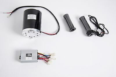 1000 W 48v 1020 Electric Brush Motor No Base Kit Control Box Throttle