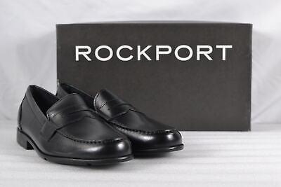1b419dc0108 10 M ROCKPORT CLASSIC BLACK A10888 Mens Leather Shoes Lace