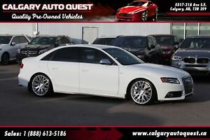 2012 Audi S4 Premium AWD/LEATHER/SUNROOF/STASIS PACKAGE/LOW KMS