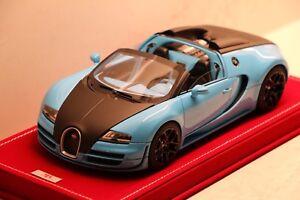 1/18 MR Bugatti Veyron Vitesse Baby Blue