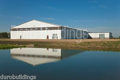 Durobeam Steel 100x100 Metal I-beam Home Riding Arena Clear Span Building Direct
