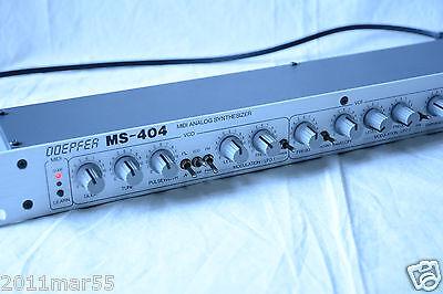 DOEPFER MS-404 MIDI ANALOG SYNTHESIZER TB-303 115V