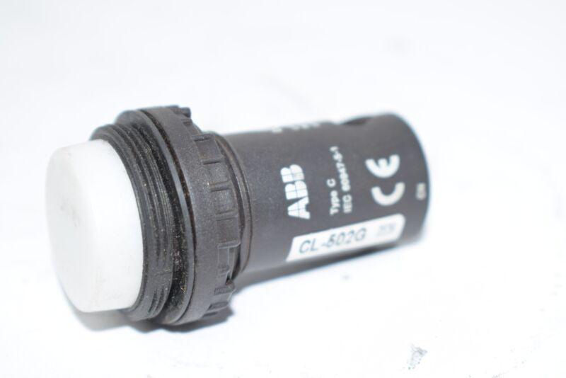 ABB CL-502G Pilot Light Missing Lens