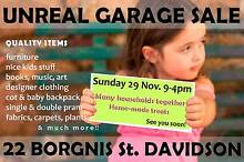 UNREAL GARAGE SALE!! -Many Households- DAVIDSON- SUNDAY 29 9-4pm Davidson Warringah Area Preview