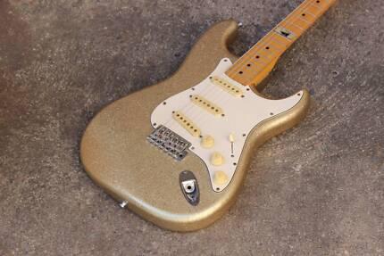 2002 Fernandes Japan Love Driver Stratocaster Electric Guitar