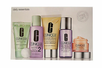 Daily Essentials Set - Dry Combination Skin By Clinique - 5