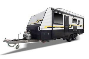 21'5 JUST CARAVANS BUNKHOUSE 3.0 - SHOWER TOILET WITH 3 BUNKS Epping Whittlesea Area Preview