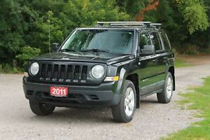 2011 Jeep Patriot Sport/North | 4x4 |  CERTIFIED