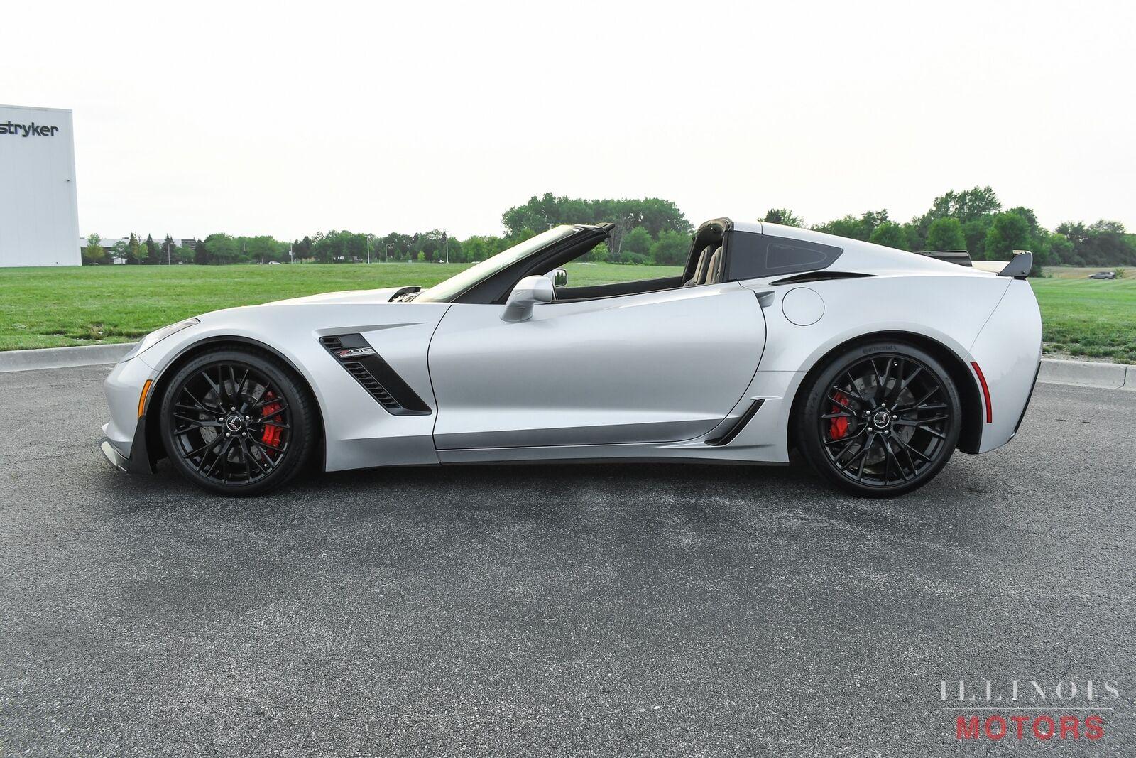 2015 Silver Chevrolet Corvette Z06  | C7 Corvette Photo 3