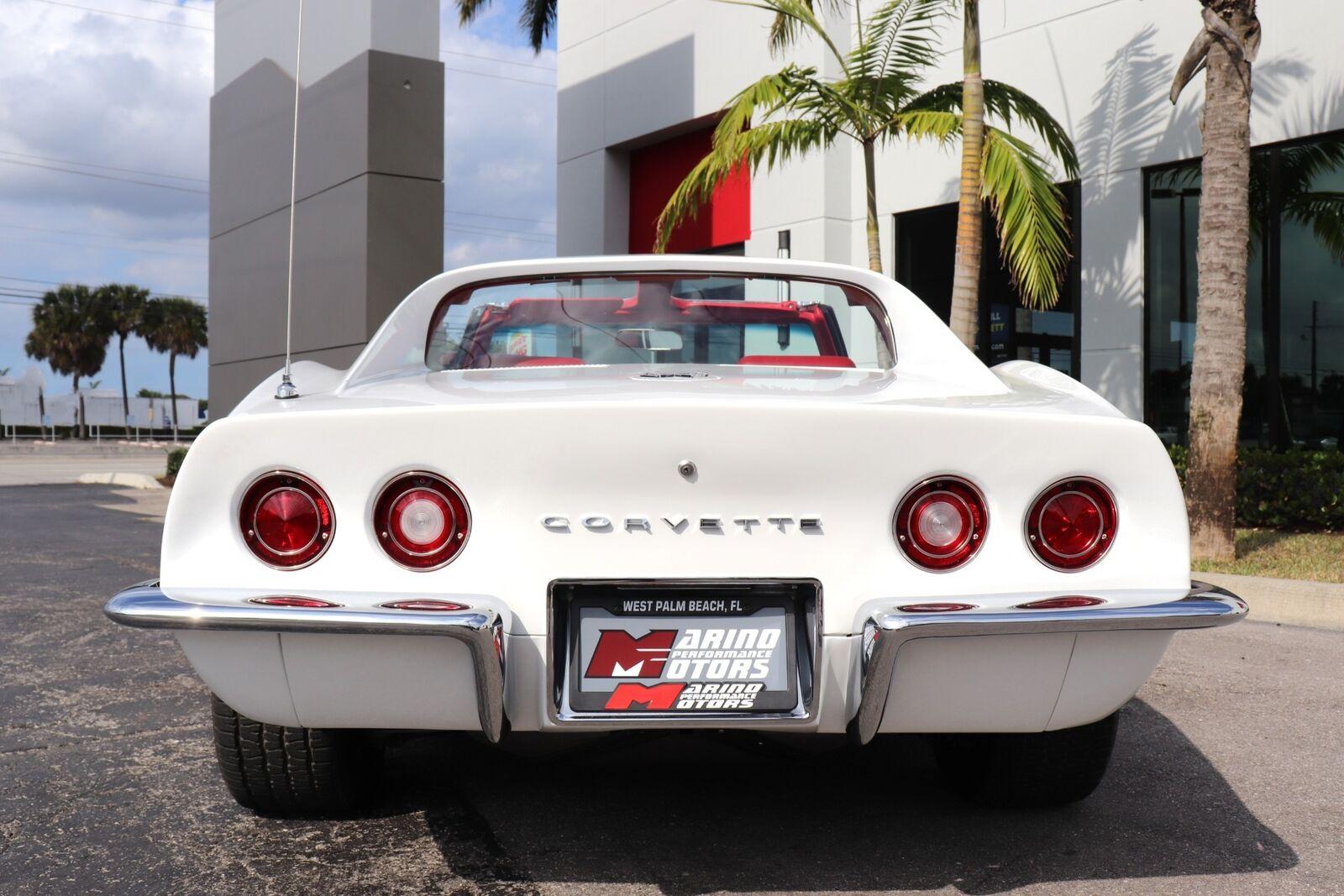 1969 White Chevrolet Corvette   | C3 Corvette Photo 6