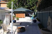 LARGE OUTDOOR SUN SHADE UMBRELLA 3.5M Grays Point Sutherland Area Preview