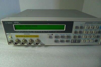 Agilent Hp 4263b 100 Hz To 100 Khz Lcr Meter Opt 001