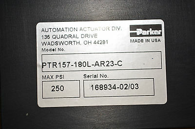 Parker Hydraulic Cylinder Ptr157-180l-ar23-c 250psi
