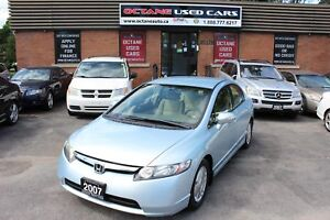 2007 Honda Civic Hybrid Accident Free! Comes Certified!
