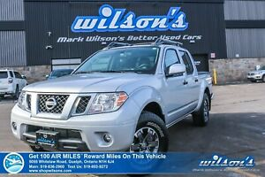 2019 Nissan Frontier PRO-4X Crew 4x4 - Leather, Navigation, Sunr