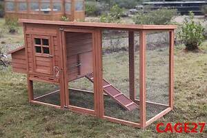 Large New Chicken Coop Rabbit Hutch Ferret Cage Hen Chook House Mordialloc Kingston Area Preview