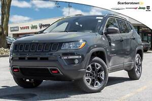 2017 Jeep All-New Compass Trailhawk+CAR-PLAY+LTHR+REMOTE-START