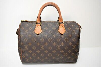 Louis Vuitton, Sac speedy 30 en toile monogram
