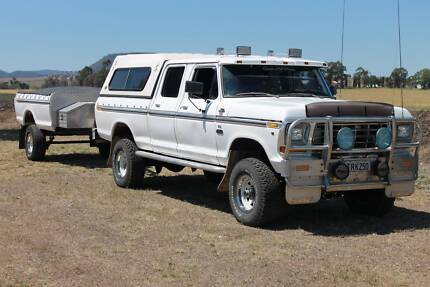 1979 Ford F250 XLT Ranger Crew Cab 4x4 Warwick Southern Downs Preview