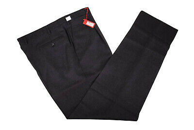 ISAIA NWT Dress Pants Size 42 in Charcoal