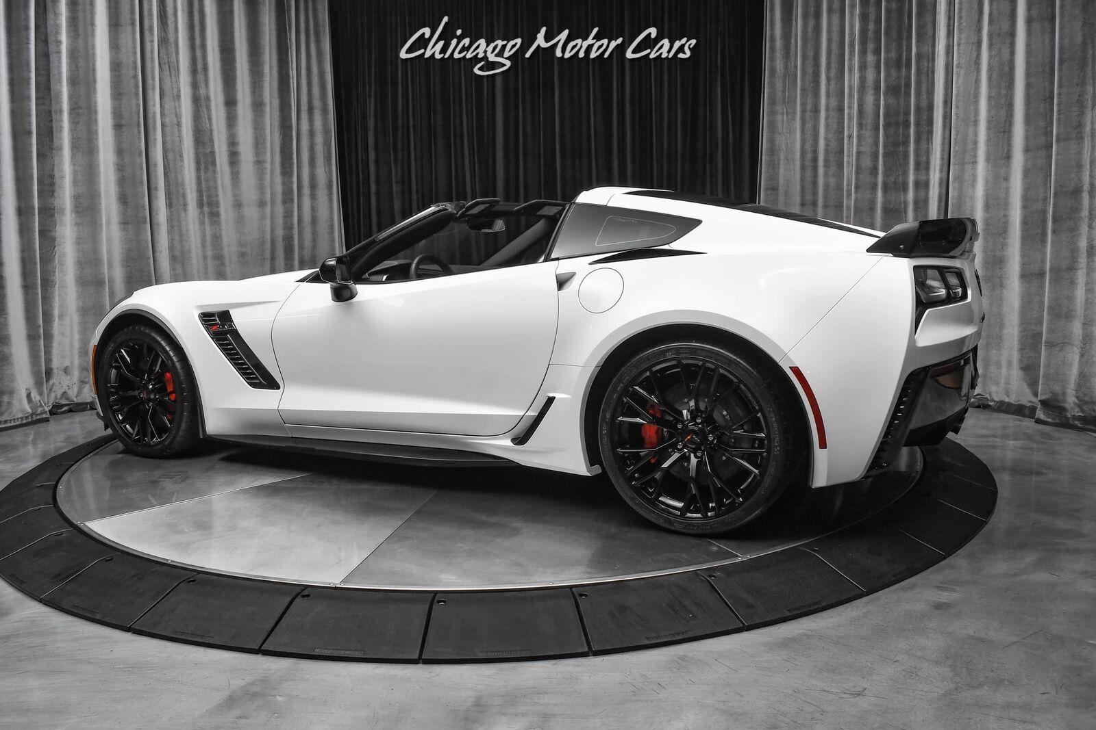 2019 White Chevrolet Corvette Z06 2LZ   C7 Corvette Photo 3