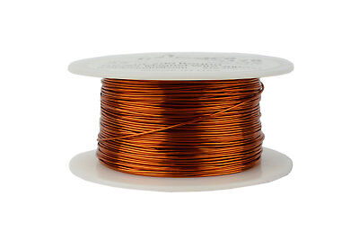 Temco Magnet Wire 22 Awg Gauge Enameled Copper 200c 8oz 250ft Coil Winding