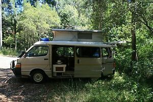 Campervan, Toyota Hiace Suncamper 1989 Neutral Bay North Sydney Area Preview