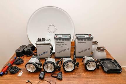 Professional Photographic Lighting Kit Elinchrom