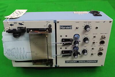 Vintage Harvard Student Oscillograph 50-8176 Linearrecorder Plotter Graph