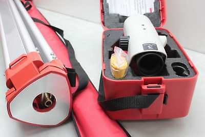 New Leica Na724 Automatic Auto Level Plumb Tool W Case Tripod  Carrying Bag