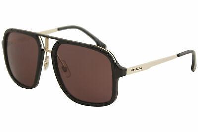 Carrera Men's 1004S 1004/S 2M2W6 Black/Gold Pilot Polarized Sunglasses (Carrera Sunglasses Black Gold)