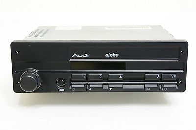 Audi alpha Hitachi KMS1087A Vintage Car Radio # 4A0035156