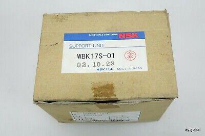 NSK NIB WBK17S-01 6203ZZ Ball Screw Support side SUPPORT UNIT BRG-I-801=5A23