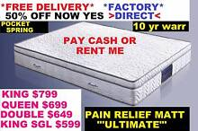 King, Queen, Double Mattress PillowTop OVER 50% OFF Model Saphire Sumner Brisbane South West Preview