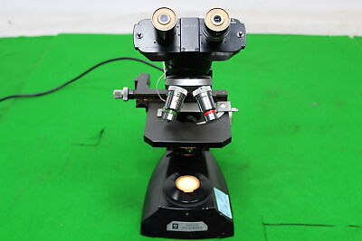 Vintage Vickers Instruments Microscope 3x Objectives 2x Eyepieces