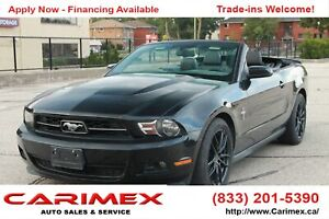 2011 Ford Mustang V6 Accident-FREE   LEATHER   WINTER WHEELS