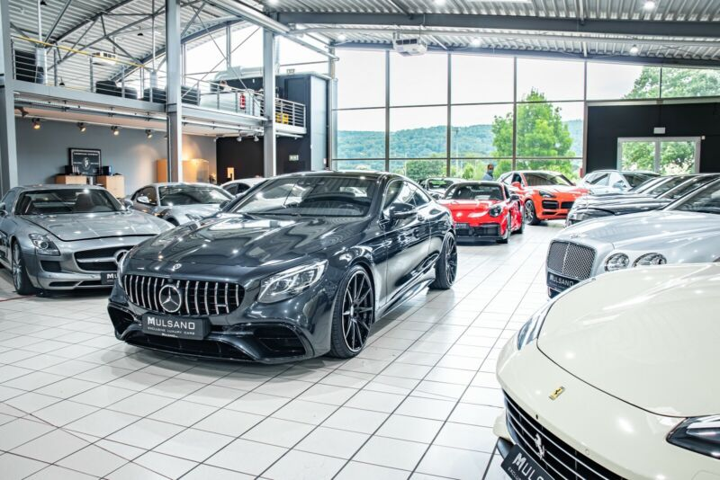 """Mercedes-Benz S 500 Coupe 4Matic S63 AMG 22""""  360"""" Panorama"""