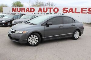 2009 Honda Civic Sdn !!! 5 SPEED MANUAL !!!